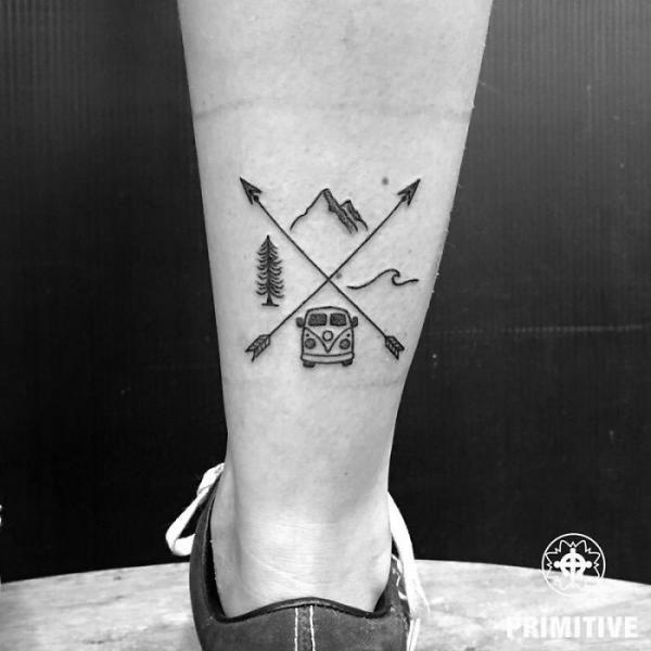 GALERIE - Nej tetování cestovatelů 1