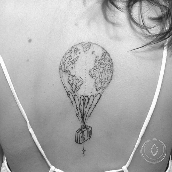 GALERIE - Nejlepší tetování cestovatelů 2