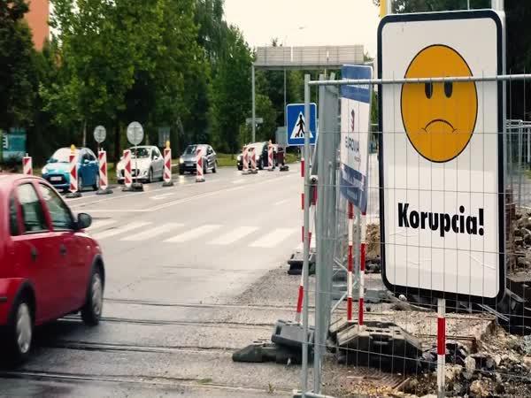 Slovensko - Upřímné dopravní značky