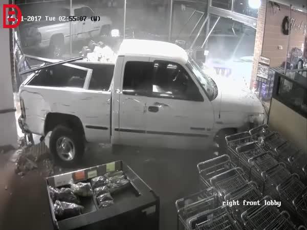 Zloději v akci v USA