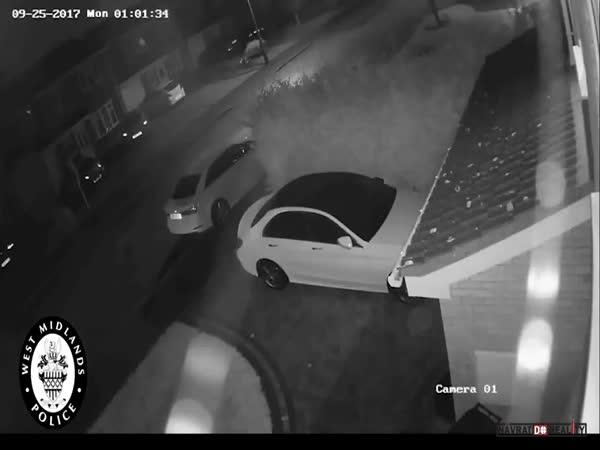 Krádež auta v Anglii