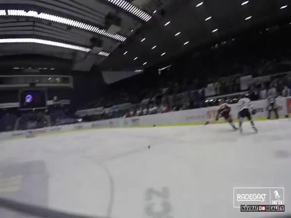 Z pohledu hokejisty