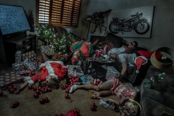 GALERIE - Podivná vánoční fotopřání #1