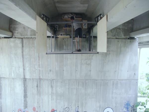 Stylové bydlení pod mostem