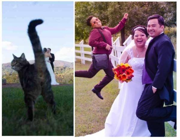 GALERIE - (Ne)povedené svatební fotky 1