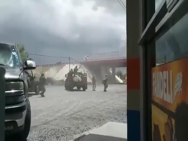 Útok na mexický drogový kartel