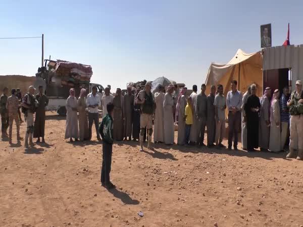 Uprchlíci se vrací do Sýrie