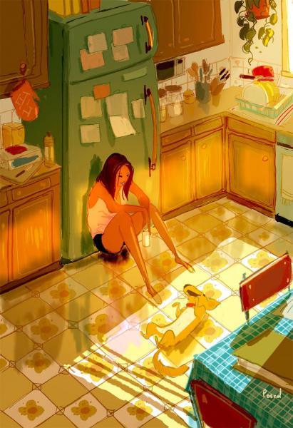 GALERIE - Ilustrace denních situací