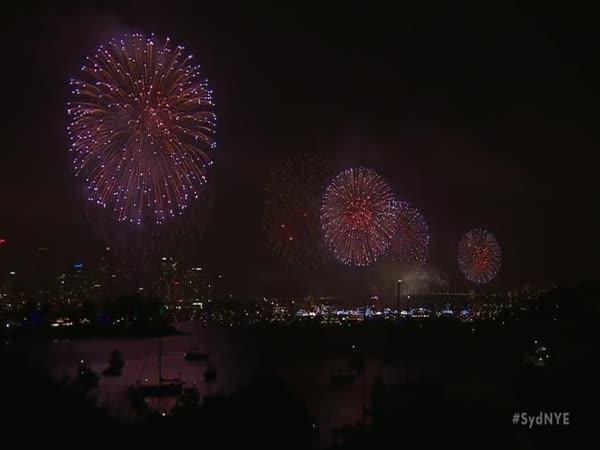 Sydney: Novoroční ohňostroj 2018