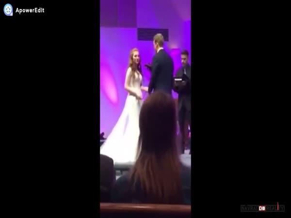 Kolaps na svatbě