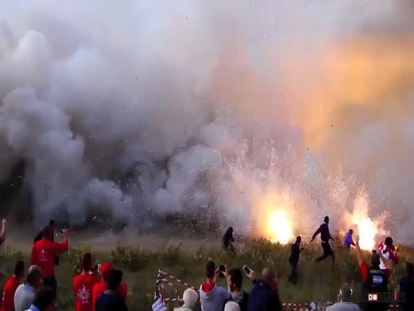 Ohňostroj v Itálii