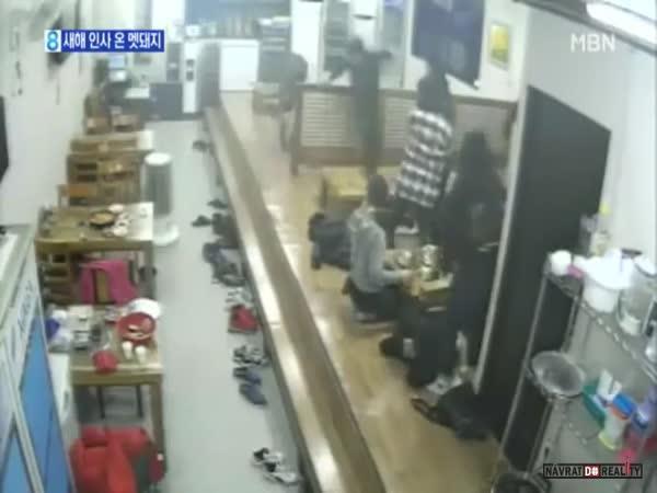 Divočák v jihokorejské restauraci