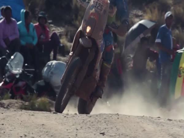 Závody Dakar 2018