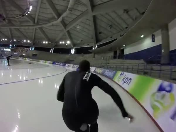 Rychlobruslení na trati 400 m