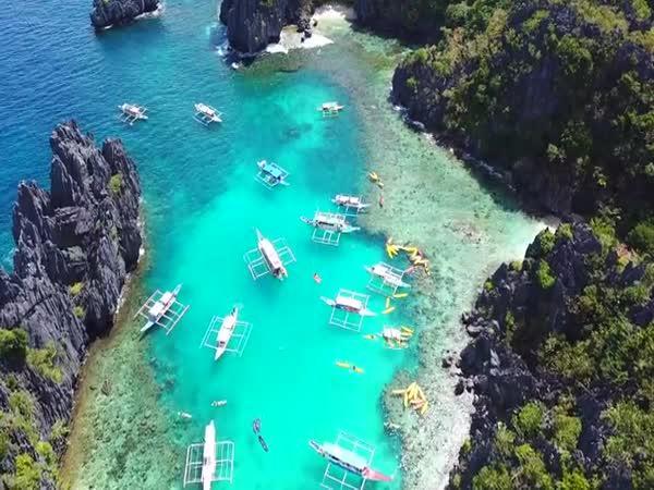 Filipíny z výšky