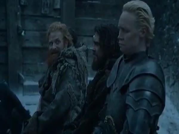 Tormund a Brienne - příběh lásky