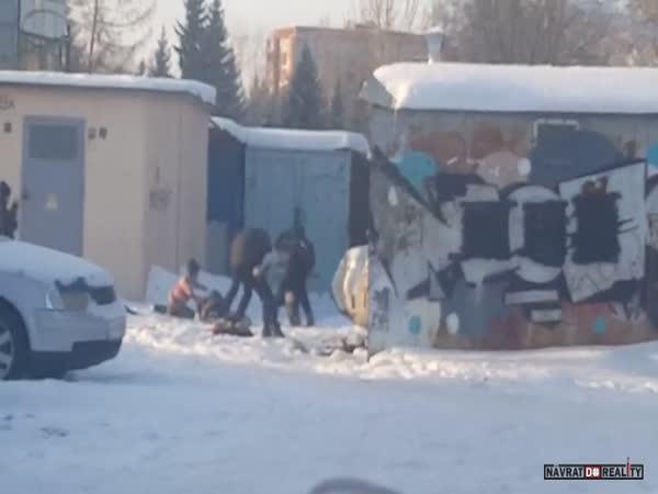 Pouliční bitka v Rusku #61