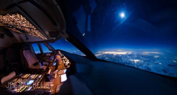 GALERIE – Boeing 747 zevnitř