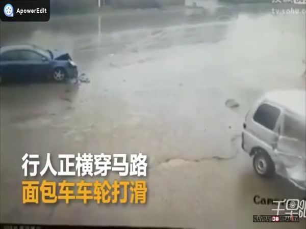 Sražený chodec v Číně #22