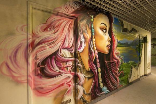 GALERIE - Originální stěny ve školách