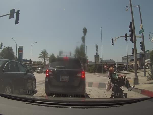 Vysmála se řidičům (Los Angeles)