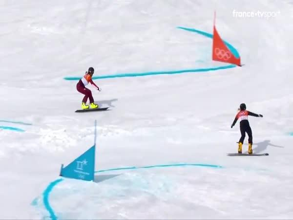 Veverka na olympiádě