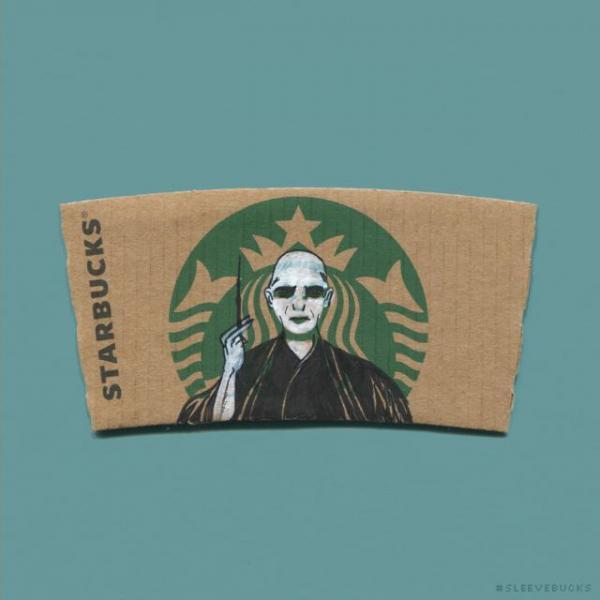 GALERIE - Kresby na Starbucks logo