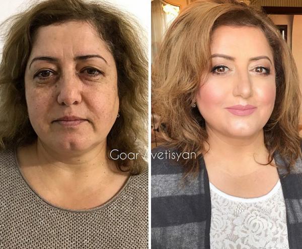 GALERIE - 14 fotek žen s make-upem a bez něj