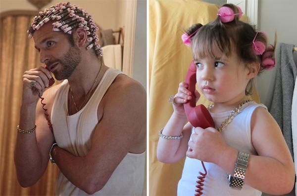 GALERIE - Děti imitují Hollywood