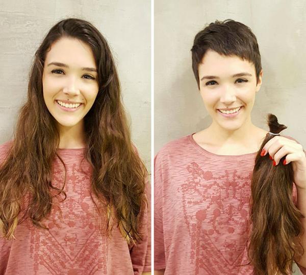 GALERIE – Ostříhali si dlouhé vlasy