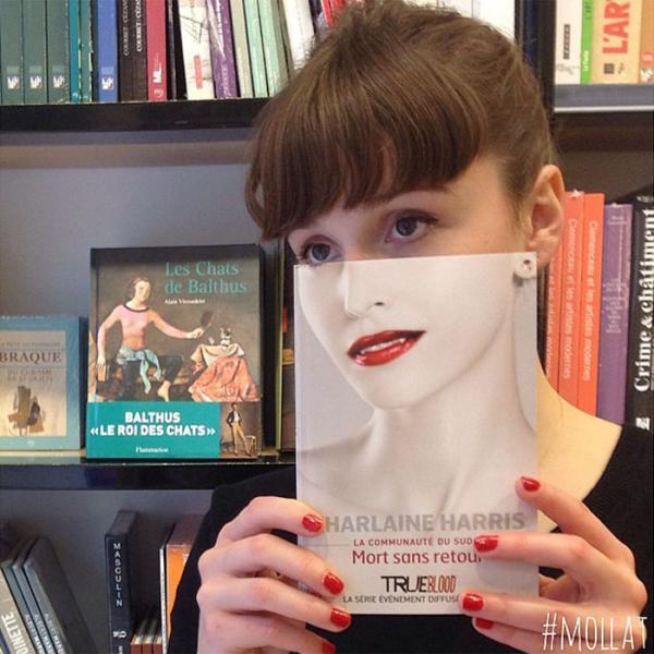 GALERIE - Nuda v knihkupectví #4