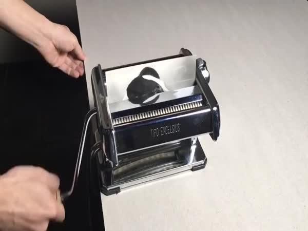 Jak rozmnožit fotku strojkem na těstoviny