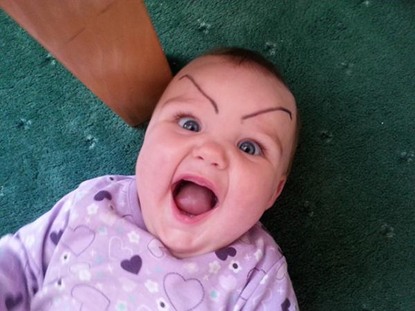 GALERIE – Rodiče si dělají srandu ze svých dětí