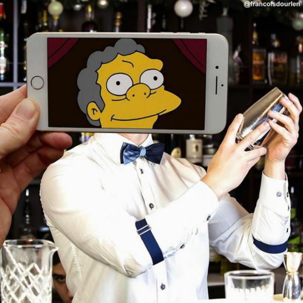 GALERIE – Postavy ze Simpsonů v reálu