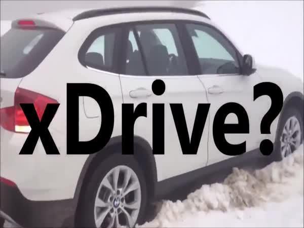 Audi vs. BMW snežná kompilace