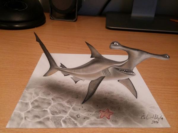 GALERIE - Dechberoucí 3D kresby #6