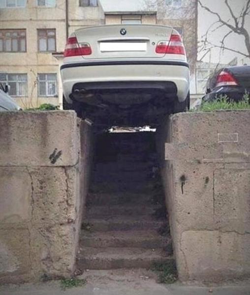 GALERIE - Parkování je umění