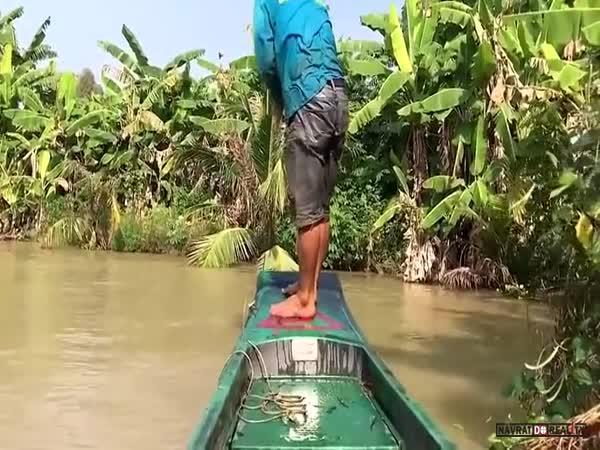 Na rybách v Kambodži #5