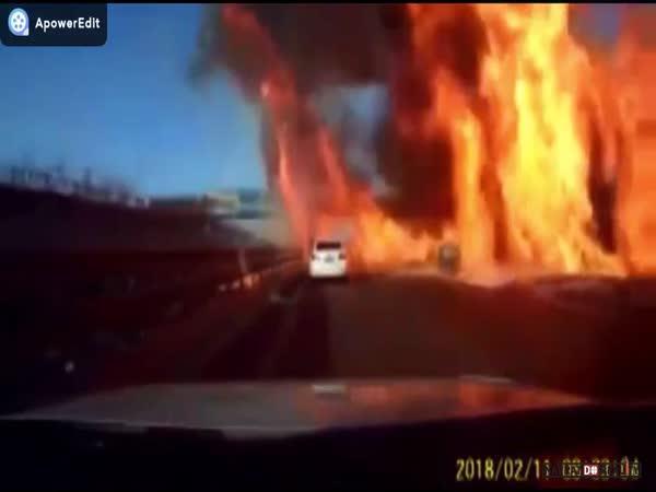 Výbuch LPG v Číně