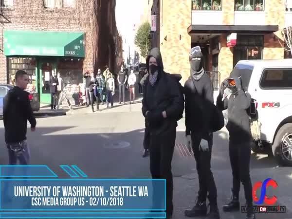 Proud Boys vs. Antifa