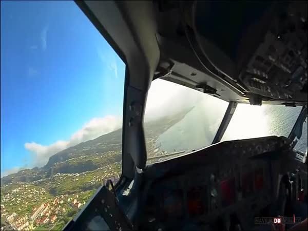 Přistávání letadel