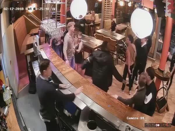 Bitka v anglickém baru