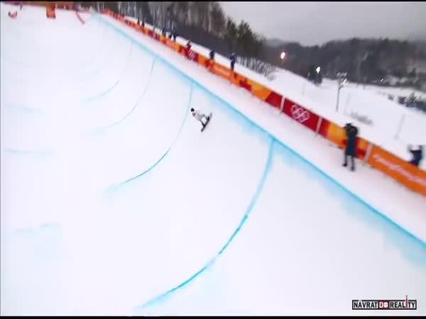 Momenty ze zimní olympiády 2018