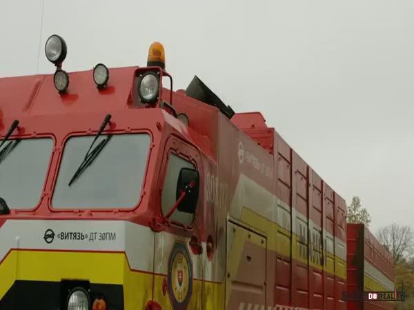 Vityaz DT-30 v akci