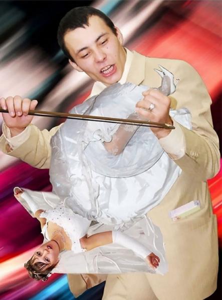 21 trapných svatebních fotek 2