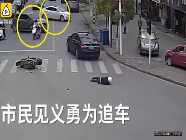Pěkná práce čínských řidičů