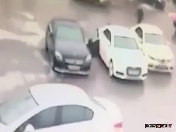 Mafiánský pokus o vraždu v Rusku