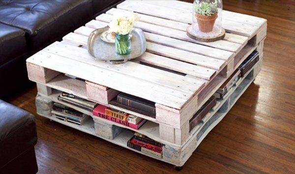 GALERIE - Přeměna palet na nábytek