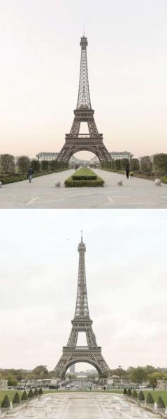GALERIE – Čína kopíruje pařížské památky