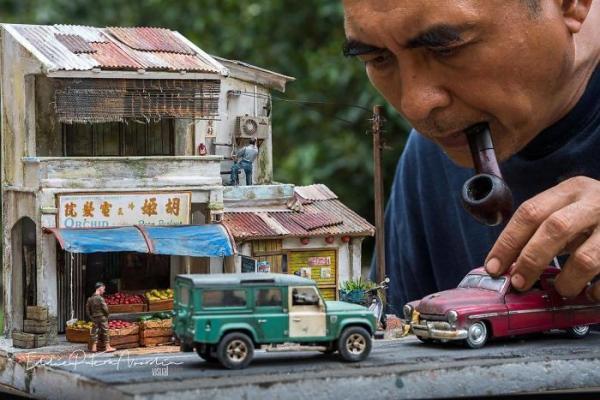 GALERIE – Umělec tvoří dokonalé miniatury